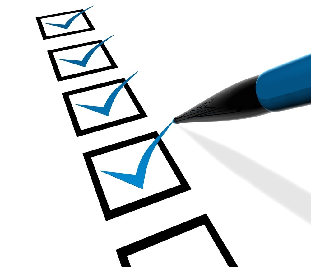 Bar Exam Checklist