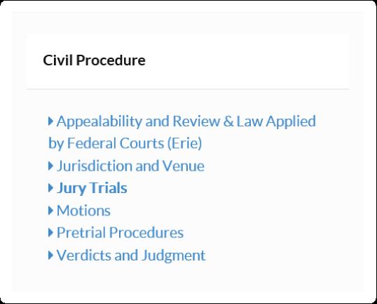 Civil Procedure Video Lecture