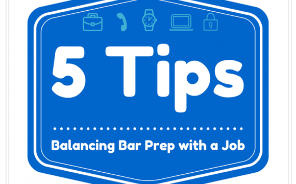 Balancing Bar Prep with a Job