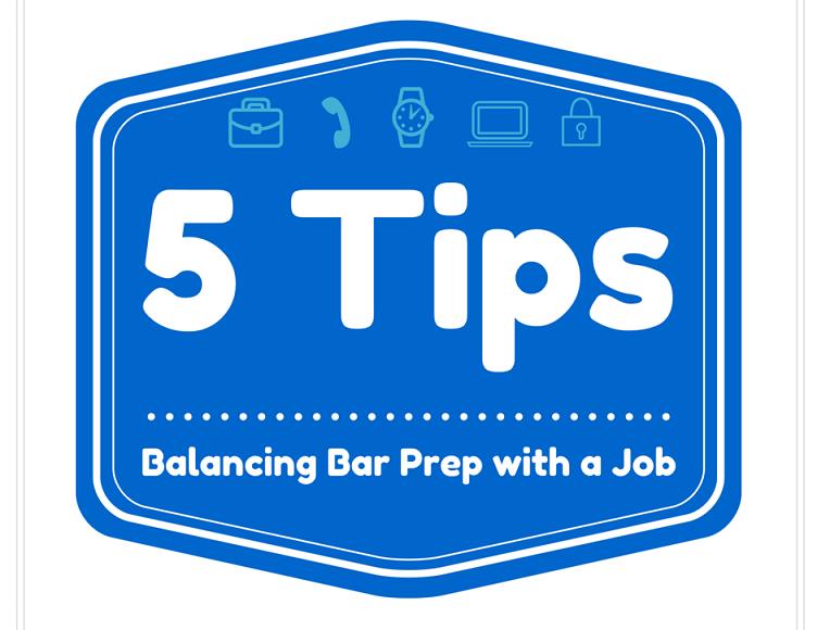 Balancing Bar Prep with a Job