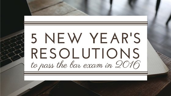 5 New Year's Resolutions