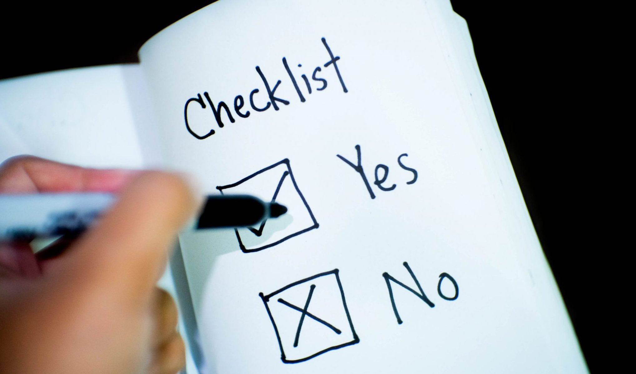 Your Complete Before-the-Bar Checklist