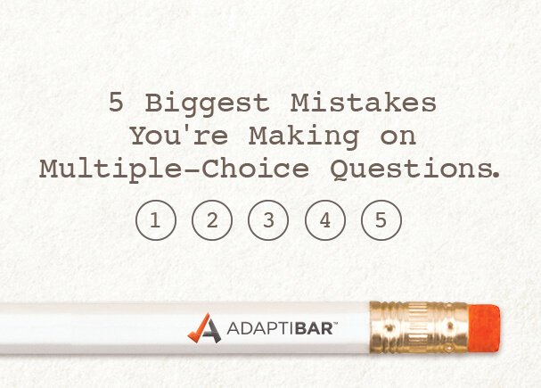 5 biggest mistakes you're making on multiple-choice questions