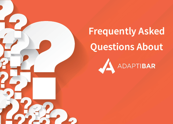 frequently asked questions about adaptibar