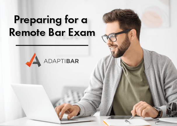 AdaptiBar preparing for a remote bar exam